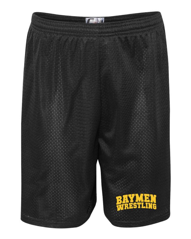 Baymen Wrestling Tech Shorts - Black