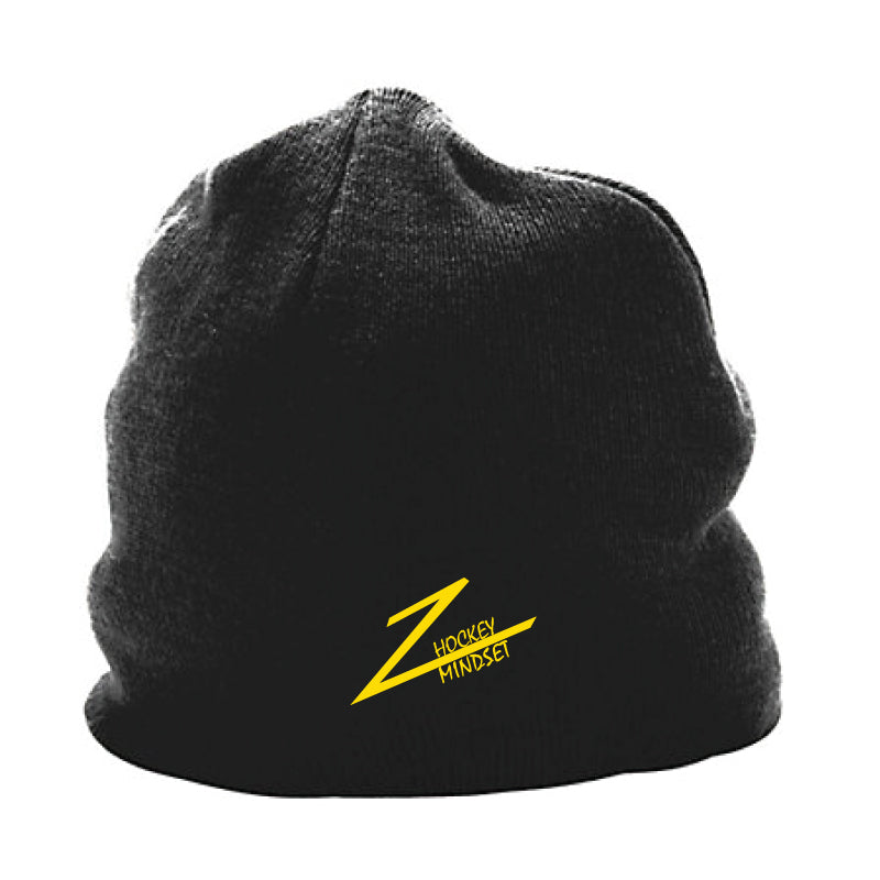 Hockey Mindset Skull Beanie - Black