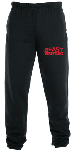 Beast Wrestling Cotton Sweatpants
