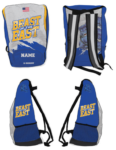 Beast of the East Wrestling Sublimated Backpack - 5KounT2018