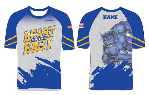 Beast of the East Wrestling Sublimated Fight Shirt - 5KounT2018