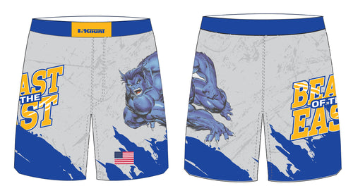 Beast of the East Wrestling Sublimated Fight Shorts - 5KounT2018