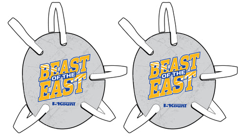 Beast of the East Wrestling Headgear - Grey - 5KounT2018