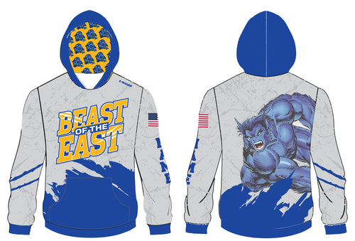 Beast of the East Wrestling Sublimated Hoodie - 5KounT2018