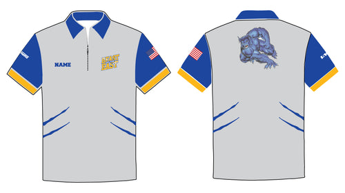 Beast of the East Wrestling Sublimated Polo - 5KounT2018