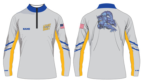 Beast of the East Wrestling Sublimated Quarter Zip - 5KounT2018
