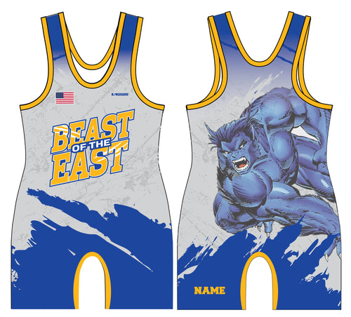 Beast of the East Wrestling Men's Singlet - 5KounT2018