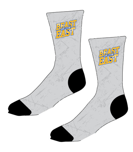 Beast of the East Wrestling Sublimated Socks - 5KounT2018