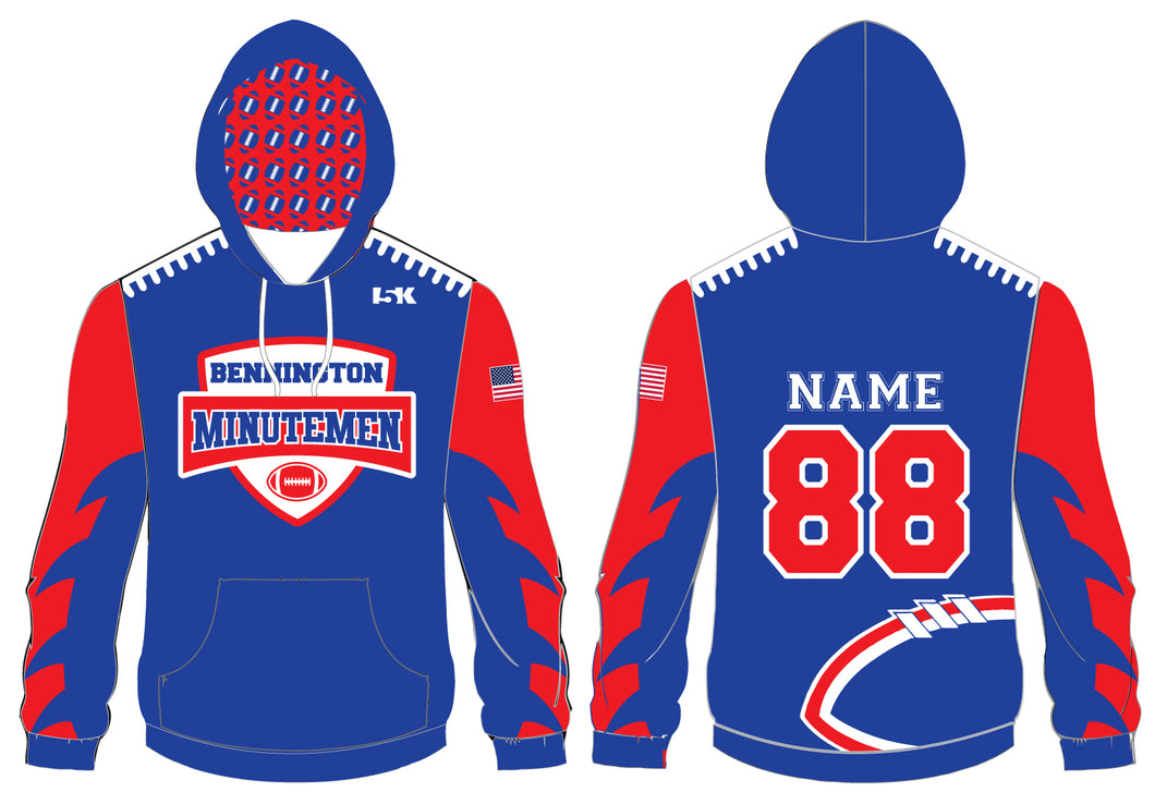 Bennington Minutemen Sublimated Hoodie - 5KounT2018