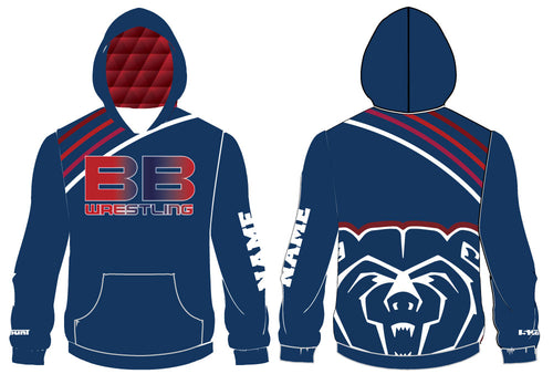 Berkeley Bears Sublimated Hoodie - 5KounT2018
