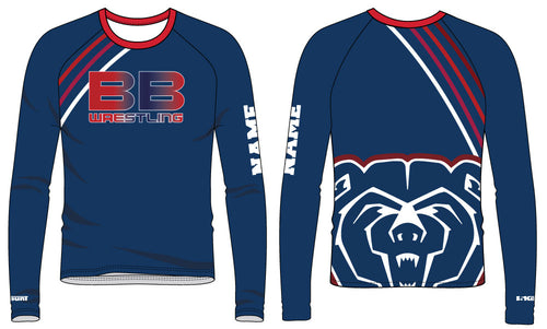 Berkeley Bears Sublimated Long Sleeve Shirt - 5KounT2018