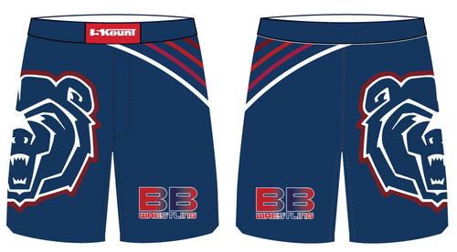 Berkeley Bears Sublimated Fight Shorts - 5KounT2018