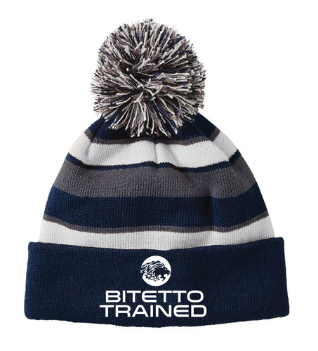 Bitetto Trained 2017 Pom Beanie
