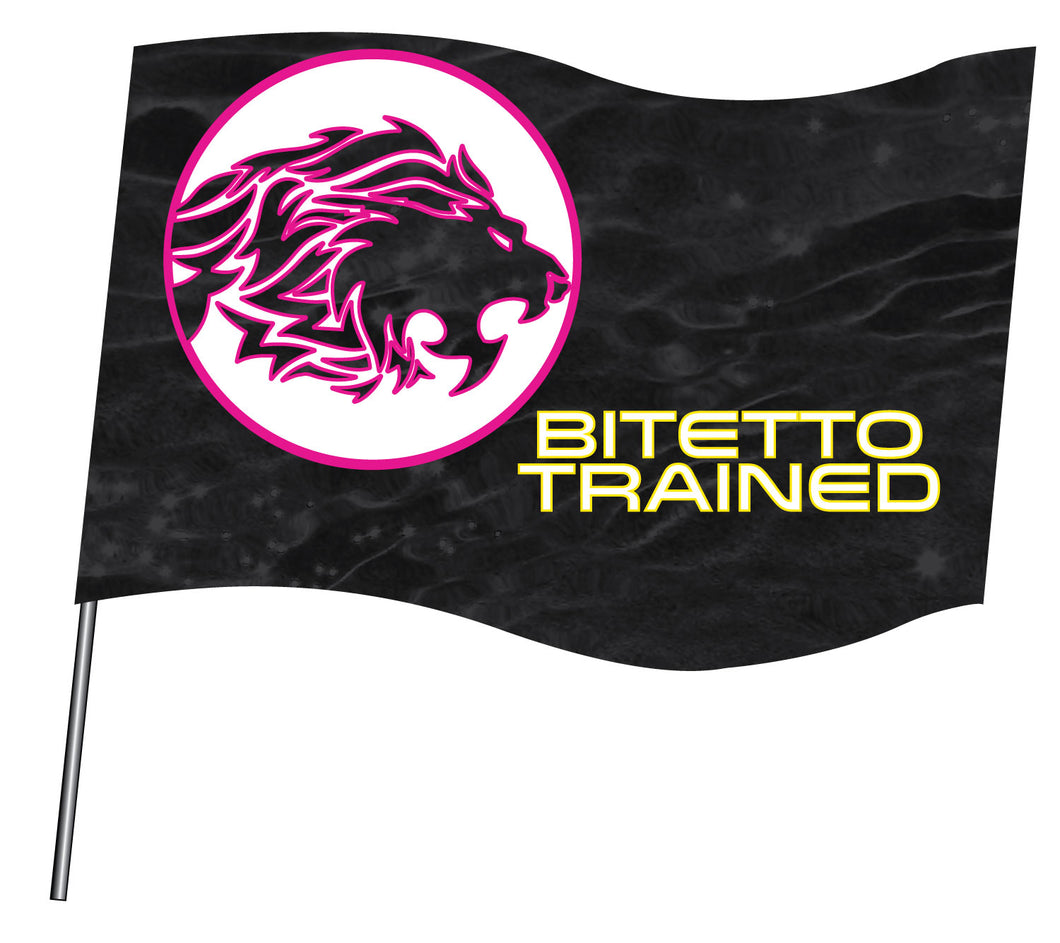 Bitetto Trained 2017 Sublimated Flag - 5KounT2018