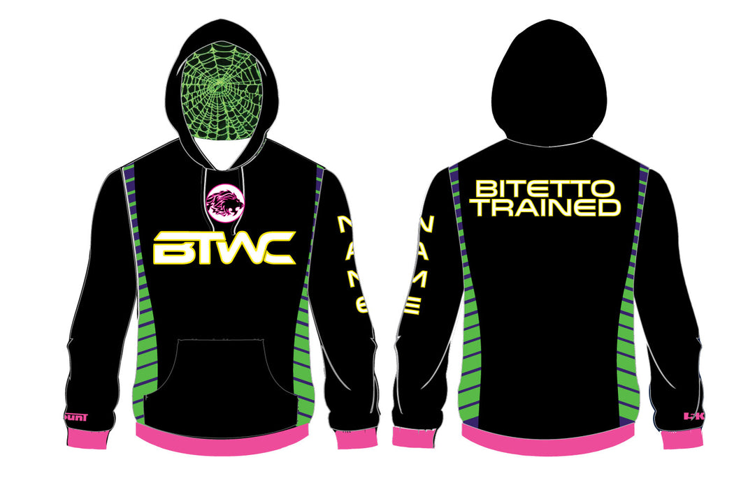 Bitetto Trained 2017 Sublimated Hoodie - 5KounT2018