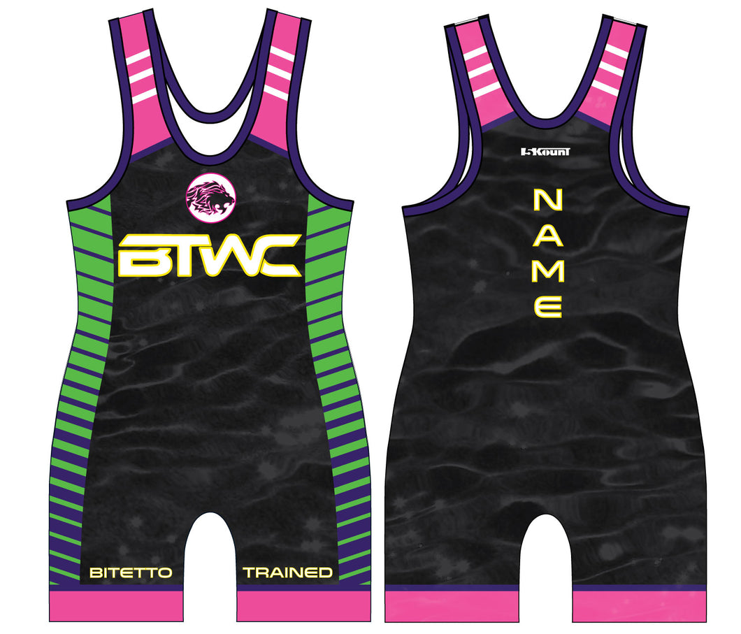 Bitetto Trained 2017 Sublimated Singlet - 5KounT