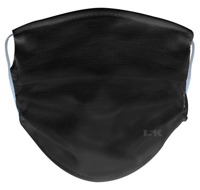 Solid Black Reusable Face Mask
