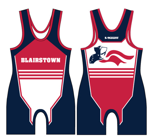 Blairstown Wrestling Sublimated Singlet