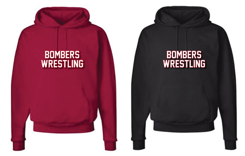 Boonton Bombers Wrestling Cotton Hoodie