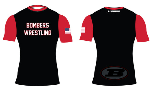 Boonton Bombers Wrestling Sublimated Compression Shirt
