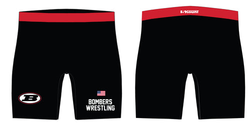 Boonton Bombers Wrestling Sublimated Compression Shorts