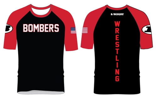 Boonton Bombers Wrestling Sublimated Fight Shirt