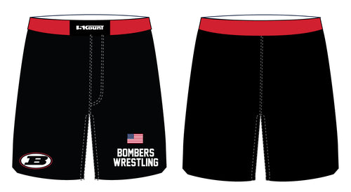 Boonton Bombers Wrestling Sublimated Fight Shorts