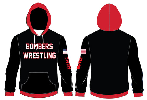 Boonton Bombers Wrestling Sublimated Hoodie
