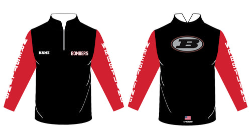Boonton Bombers Wrestling Sublimated Quarter Zip