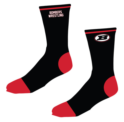 Boonton Bombers Wrestling Sublimated Socks