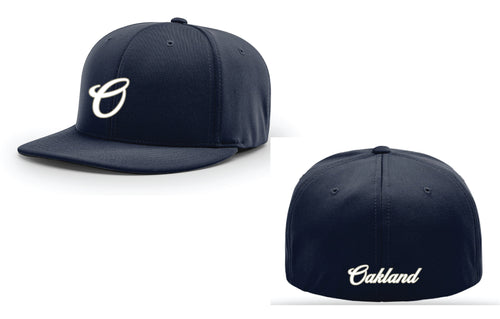Braves Baseball Flexfit Cap - Navy