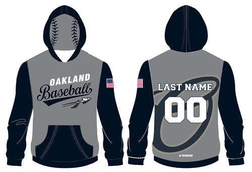 Braves Baseball Sublimated Hoodie - 5KounT2018