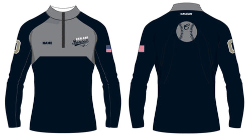 Braves Baseball Sublimated Quarter Zip - 5KounT2018