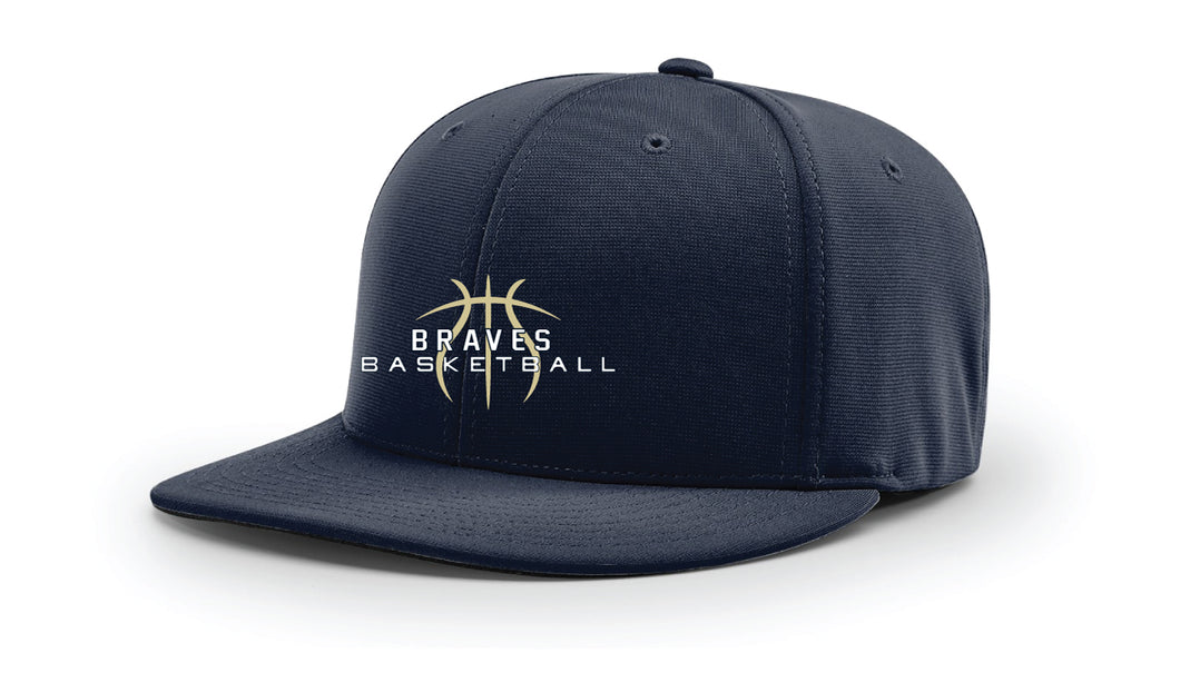 Braves Basketball FlexFit Cap - Navy