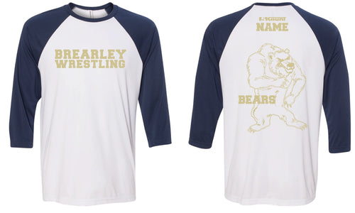 Brearley Wrestling Baseball Shirt - 5KounT2018
