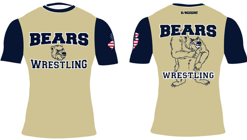 Brearley Wrestling Sublimated Compression Shirt - 5KounT2018
