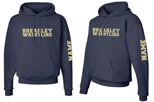 Brearley Wrestling Cotton Hoodie - 5KounT2018
