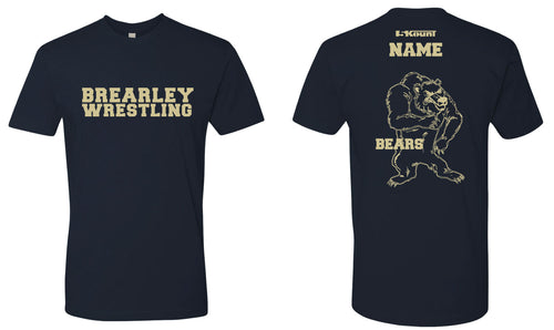 Brearley Wrestling Cotton Crew Tee - 5KounT2018