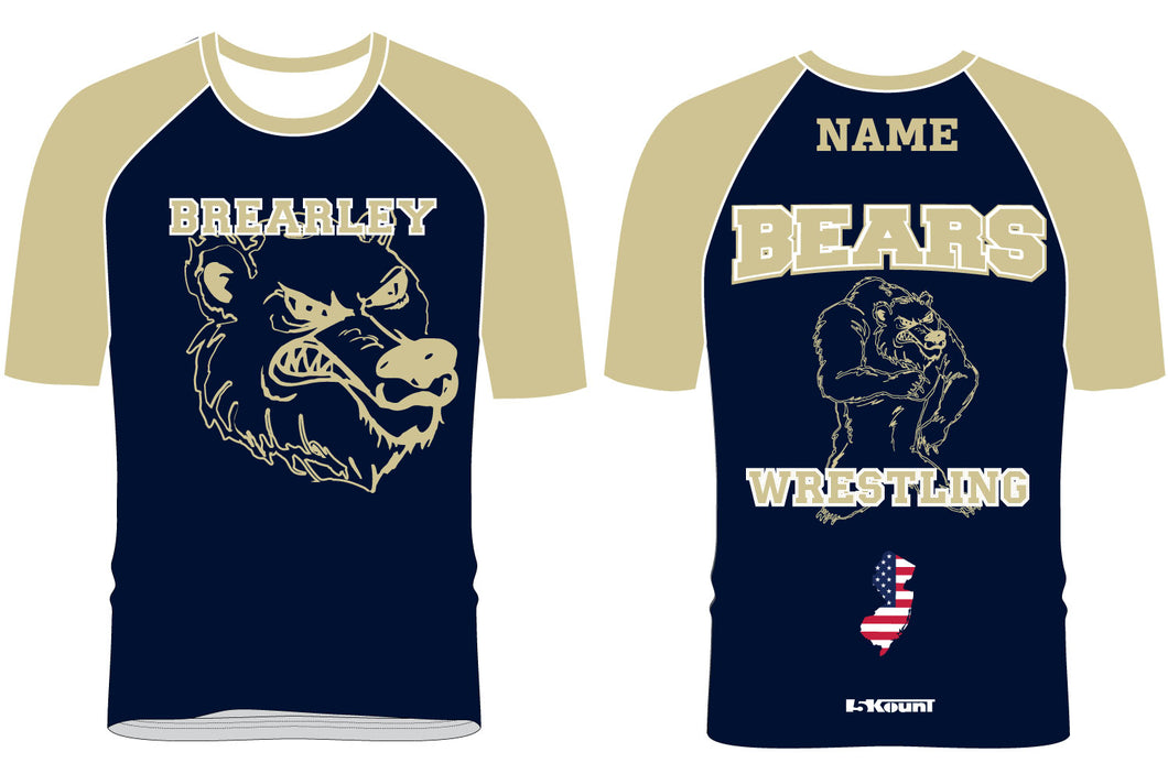 Brearley Wrestling Sublimated Fight Shirt