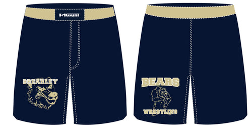 Brearley Wrestling Sublimated Fight Shorts - 5KounT2018