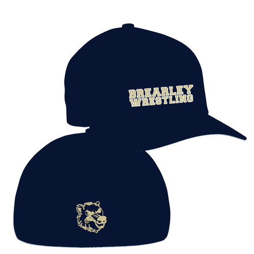 Brearley Wrestling FlexFit Cap - 5KounT2018