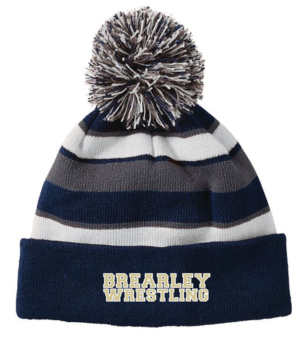 Brearley Wrestling Pom Beanie - 5KounT2018