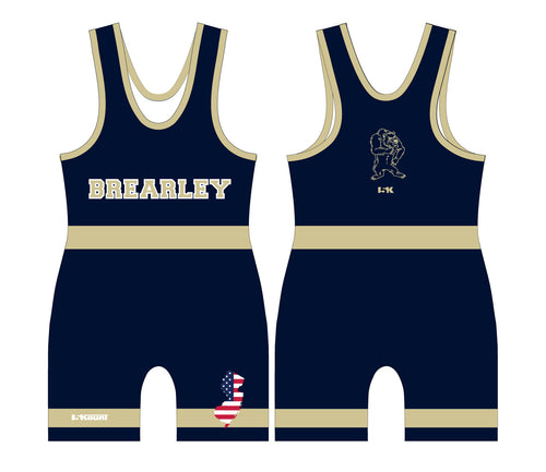 Brearley Wrestling Sublimated Singlet - 5KounT2018