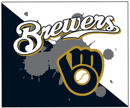 Brewers Baseball Sublimated Mousepad - 5KounT2018