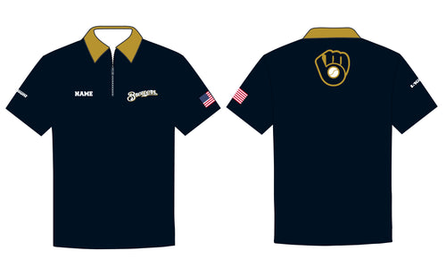 Brewers Baseball Sublimated Polo - 5KounT2018