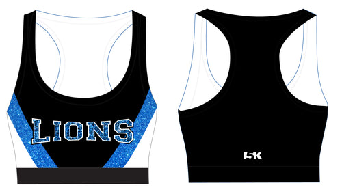 Brick City Lions Cheer Sublimated Sports Bra