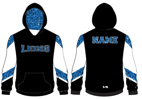 Brick City Lions Cheer Sublimated Hoodie - 5KounT2018