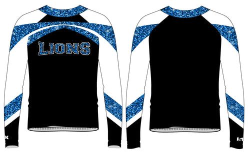 Brick City Lions Cheer Sublimated Long Sleeve