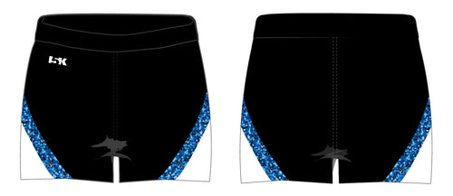 Brick City Lions Cheer Sublimated Shorts - 5KounT2018