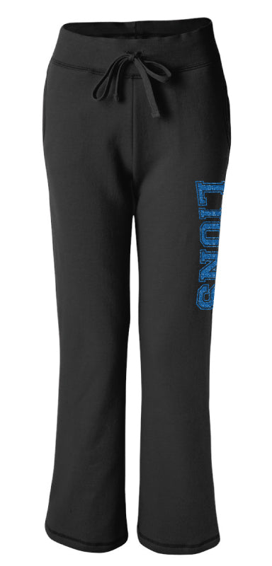 Brick City Lions Cheer Women's Sweatpants - Black